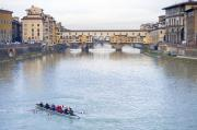 Michelangelo Framed Prints - Ponte Vecchio Framed Print by Andre Goncalves