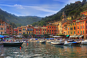Ligurian Sea Framed Prints - Portofino Framed Print by Joana Kruse