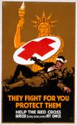Fundraiser Art - Red Cross Poster, 1917 by Granger