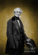 Electrical Engineer Posters - Samuel Morse, American Inventor Poster by Science Source