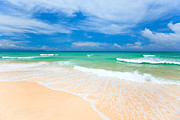 Miami Art - Sandy beach by MotHaiBaPhoto Prints