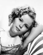 Fashion Photograph Posters - Shirley Temple (1928-  ) Poster by Granger