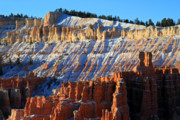 Thor Prints - Sunset point in Bryce Canyon Print by Pierre Leclerc