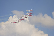 Flight Formation Photos - The Snowbirds 431 Air Demonstration by Terry Moore