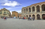Arena Photo Framed Prints - Verona Framed Print by Joana Kruse