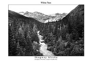 Signed Photo Framed Prints - White Pass Framed Print by William Jones