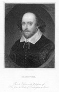 William Shakespeare Print by Granger