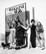 Portrait Of Man Framed Prints - Wizard Of Oz, 1939 Framed Print by Granger