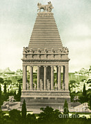 Art Of Building Posters - 7 Wonders Of The World, Mausoleum Poster by Photo Researchers