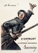 1916 Photos - World War I: French Poster by Granger