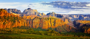 Slickrock Photo Prints - Zion National Park Utah Print by Utah Images