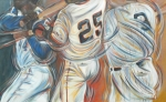 Barry Bonds Posters - 700 Homerun Club Poster by Redlime Art