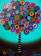 Mexican Paintings - Tree Of Life by Pristine Cartera Turkus
