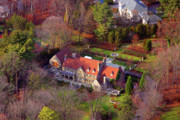 Residential Real Estate Aerial Photographs - 744 Merion Square Road Gladwyn Pennsylvania by Duncan Pearson