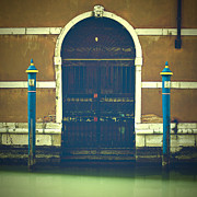Entrance Door Framed Prints - Venezia Framed Print by Joana Kruse