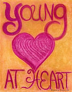 Youthful Pastels Prints - Artwithheart.com Print by Patricia Marie Amber Sorenson