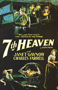 Motion Picture Framed Prints - 7th Heaven Framed Print by Nomad Art And  Design
