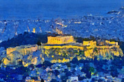 Sea Photos - Acropolis of Athens by George Atsametakis