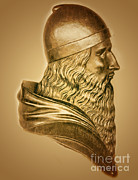 Metaphysics Photo Posters - Aristotle, Ancient Greek Philosopher Poster by Science Source
