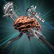 Biomedical Illustration Art - Brain Research, Conceptual Artwork by Laguna Design