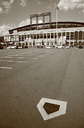 Ballpark Prints - Citi Field - New York Mets Print by Frank Romeo