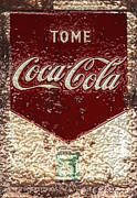 Vintage Coca Cola Sign Art - Coca Cola Classic Vintage Rusty Sign by John Stephens