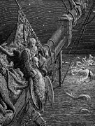 Coleridge Prints - Coleridge: Ancient Mariner Print by Granger
