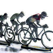 Human Art - Cyclists by Bernard Jaubert