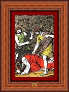 Drumul Crucii - Stations Of The Cross  Print by Buclea Cristian Petru