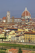 River Views Posters - Florence Poster by Joana Kruse