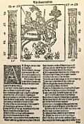 Printed Prints - Geoffrey Chaucers, Canterbury Tales Print by Photo Researchers