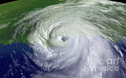 Most Photo Posters - Hurricane Katrina Poster by Science Source