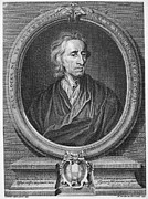 Godfrey Framed Prints - John Locke (1632-1704) Framed Print by Granger