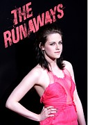 Arclight Hollywood Cinerama Dome Framed Prints - Kristen Stewart At Arrivals For The Framed Print by Everett