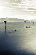 Storm Warning Prints - Lake Constance Print by Joana Kruse