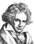 Ludwig Photos - LUDWIG van BEETHOVEN by Granger