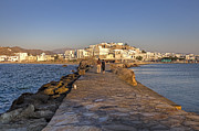 Mole Prints - Naxos - Cyclades - Greece Print by Joana Kruse