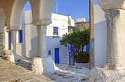 Greece Art - Paros - Cyclades - Greece by Joana Kruse