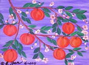 Peaches Originals - 8 Peaches by Elizabeth Janus