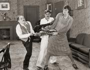 Saxophone Photos - Silent Film Still: Fights by Granger