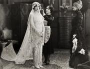 Dressing Room Posters - Silent Film Still: Wedding Poster by Granger