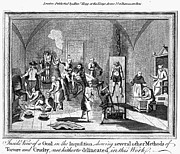 Martyr Prints - Spanish Inquisition Print by Granger