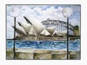 Sydney Opera House Print by Yelena Dyumin