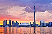 Harbour Photos - Toronto skyline by Elena Elisseeva