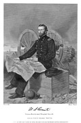 Mississippi Map Prints - Ulysses S. Grant (1822-1885) Print by Granger