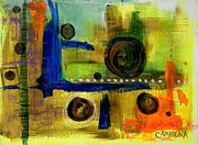 Colored Pencil Metal Prints - Untitled Metal Print by Teddy Campagna