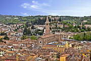 Panorama Acrylic Prints - Verona Acrylic Print by Joana Kruse