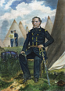 U.s Army Framed Prints - Zachary Taylor (1784-1850) Framed Print by Granger