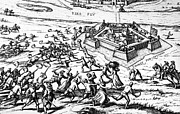 Citizen Prints - 80 Years War, 1591 Print by Granger