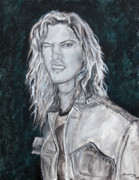 80's Rock Print by Viktoria Tormassy